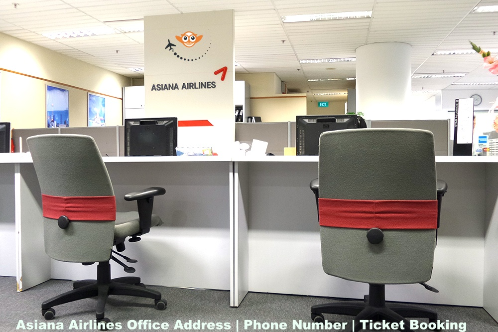 Asiana Airlines Office Address | Phone Number | Ticket Booking