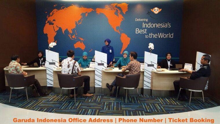 Garuda Indonesia Office Address | Phone Number | Ticket Booking